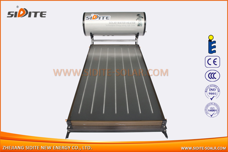 Integrative pressurized flat panel solar water heater, SP-F