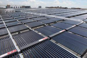 Solar Water Heating Project for Haining Swimming Pool
