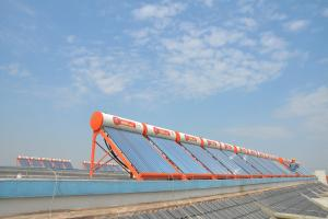 Solar Water Heating Project for Pinghu Longxing Real-estate development Co., Ltd