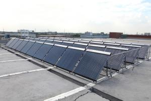 Solar Water Heating Project for staff dormitory in Jiaxing Merica Food Co., Ltd.
