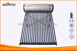 Integrative pressurized galvanized steel solar water heater