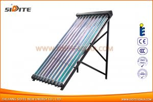 Metal Glass Heat Pipe Solar Collector