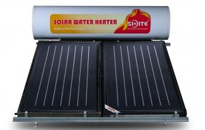 Non-pressurized flat plate solar water heater